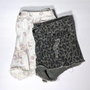 Lot of Two Pairs of Shorts Size 27
